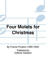 Four Motets for Christmas