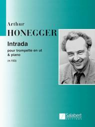 Intrada pour trompette en Ut et piano (H.193)