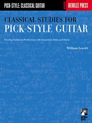 Classical Studies For Pick-Style Guitar - Volume 1