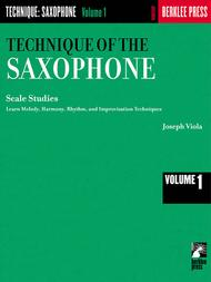 Technique of the Saxophone - Volume 1