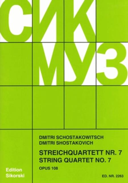 String Quartet No. 7, Op. 108