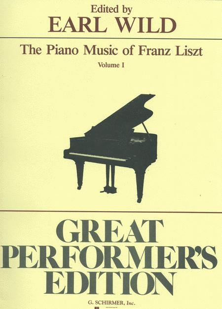 Piano Music Of Franz Liszt - Volume 1