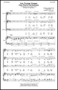 Ave Verum Corpus Jesu, Word Of God Incarnate With Organ Acc