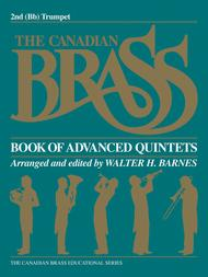 Canadian Brass Book Of Advanced Quintets - 2nd Trumpet