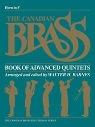 Canadian Brass Book Of Advanced Quintets - Horn