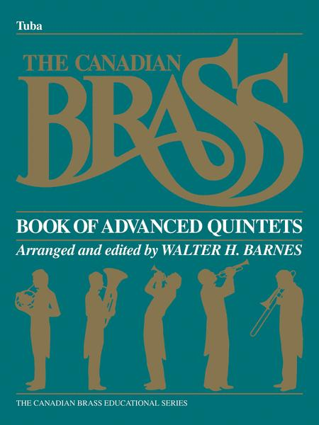 Canadian Brass Book Of Advanced Quintets - Tuba