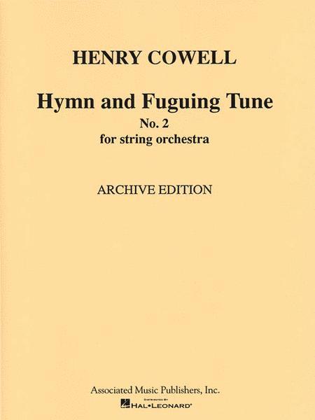 Hymn & Fuguing Tune No 2 Str Orch Score