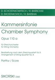 Chamber Symphony (Kammersinfonie), Op. 110a