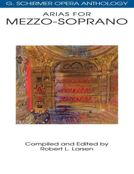 Arias For Mezzo-Soprano