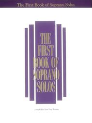 The First Book of Soprano Solos (Book Only)