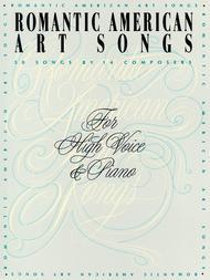 Romantic American Art Songs - High Voice