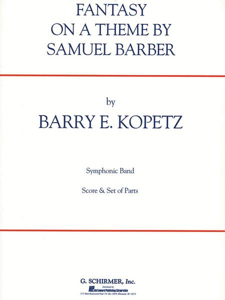 Fantasy on a Theme by Samuel Barber (ov. to The School for Scandal)