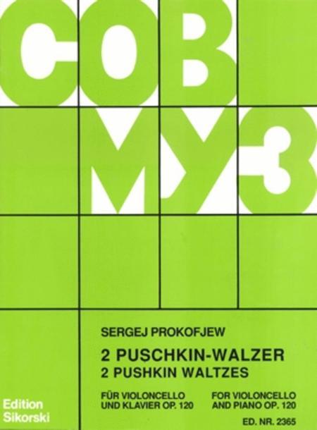 2 Pushkin Waltzes, Op. 120