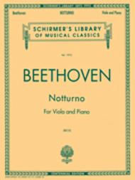 Notturno For Viola And Piano Centennial Edition