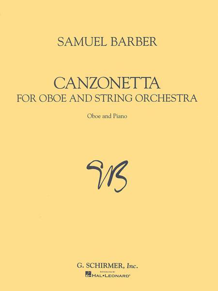 Canzonetta - Oboe/Piano