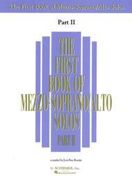 The First Book of Mezzo-Soprano/Alto Solos - Part II (Book Only)
