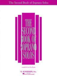 The Second Book of Soprano Solos (Book Only)