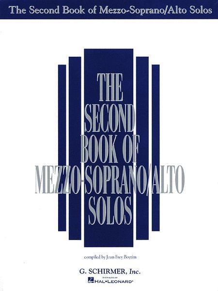 The Second Book of Mezzo-Soprano/Alto Solos (Book Only)