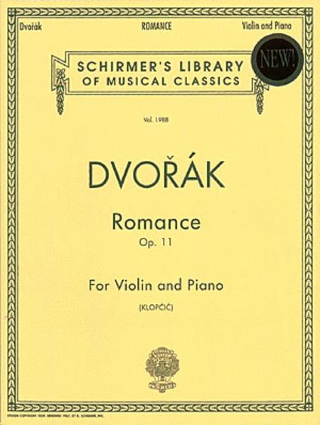 Romance, Op. 11 - Piano/Violin
