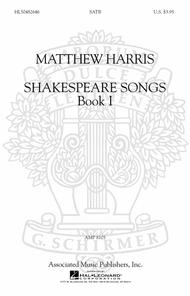 Shakespeare Songs, Book I