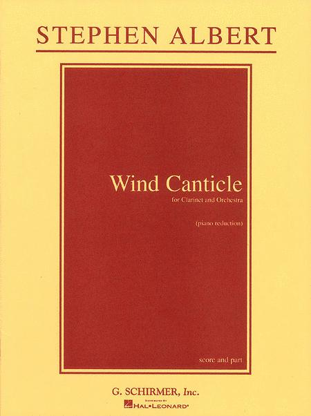 Wind Canticle - Clarinet/Piano
