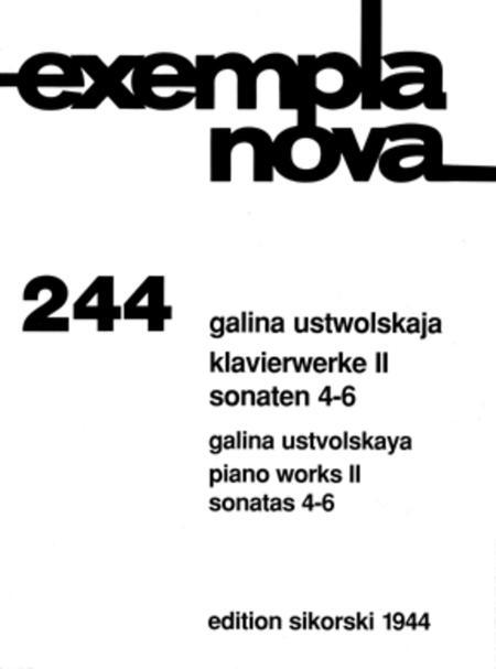 Sonatas, Nos. 4-6