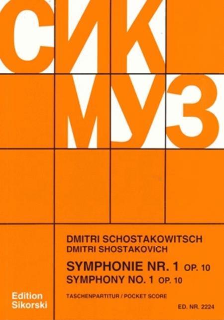 Symphony No. 1, Op. 10