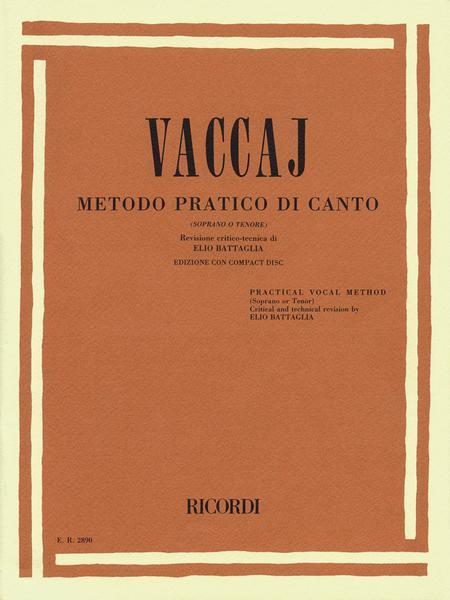 Metodo Practico di Canto - Soprano o Tenore