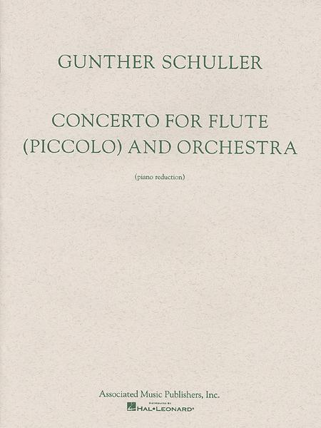 Concerto For Flute (Piccolo) - Flute/Piano