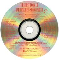 The First Book of Baritone/Bass Solos - Part II (Accompaniment CDs)