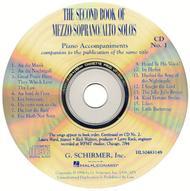 The Second Book of Mezzo-Soprano/Alto Solos (Accompaniment CDs)