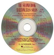 The Second Book of Baritone/Bass Solos (Accompaniment CDs)