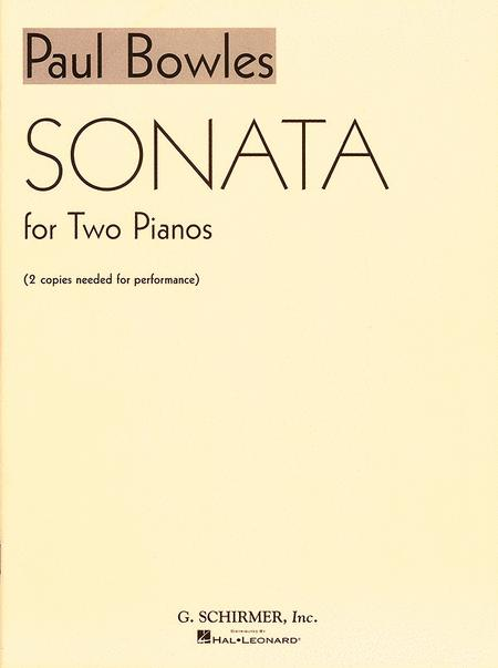Sonata for 2 Pianos