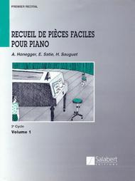 Recueil de Pieces Faciles Pour Piano - Level 2, Volume 1
