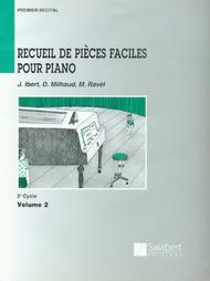 Recueil de Pieces Faciles Pour Piano - Level 2, Volume 2