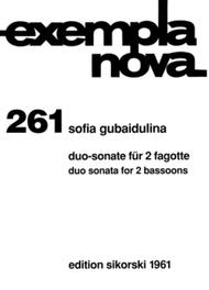 Duo Sonata for Two Bassoons