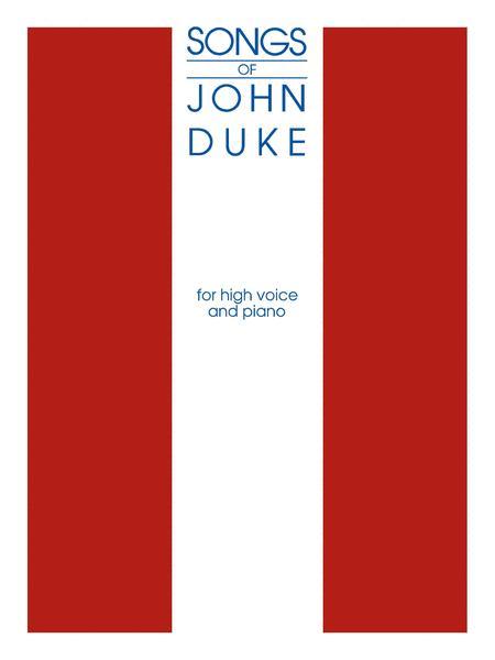 The Songs Of John Duke - High Voice