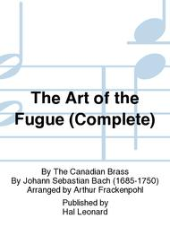 The Art of the Fugue (Complete)