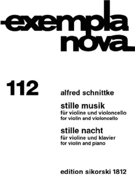 Stille Musik and Stille Nacht