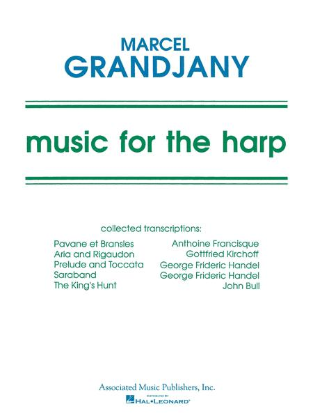 Music For The Harp Music Of Various Composers Arr By Grandjany