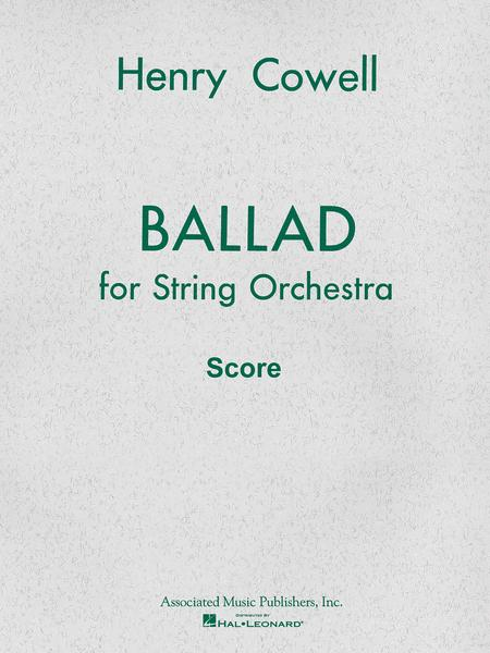 Ballad (1954) for String Orchestra