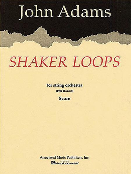 Shaker Loops (revised)