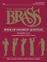 Canadian Brass Book Of Favorite Quintets - Tuba Part
