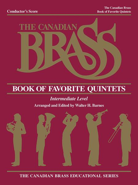 Canadian Brass Book Of Favorite Quintets - Conductor's Score