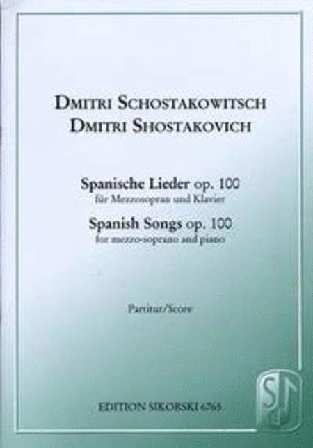 Spanish Songs, Op. 100