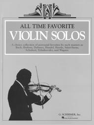 All Time Favorite Violin Solos - Piano/Violin