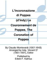 L'Incoronazione di Poppea (d'Indy) Le Couronnement de Poppee, The Coronation of Poppea