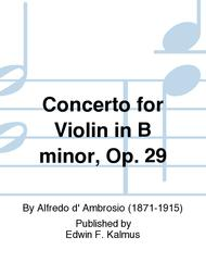 Concerto for Violin in B minor, Op. 29