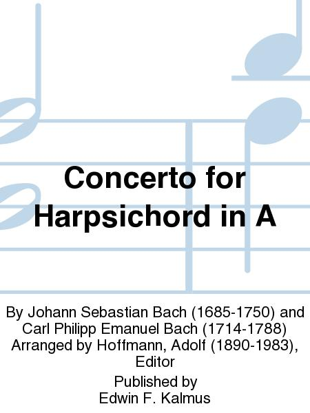 Concerto for Harpsichord in A