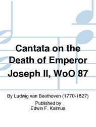 Cantata on the Death of Emperor Joseph II, WoO 87